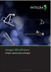 Catalogues Integra MicroFrance® Laparoscopie 2018 - PDF - EN - 2018